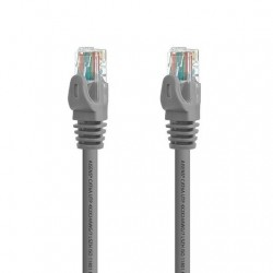 CABLE RED AISENS RJ45 LSZH CAT6A 25CM GRIS