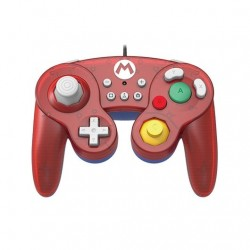GAMEPAD HORI BATTLE MARIO ROJO