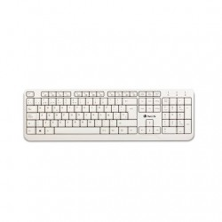 TECLADO NGS WIRED SPIKE BLANCO