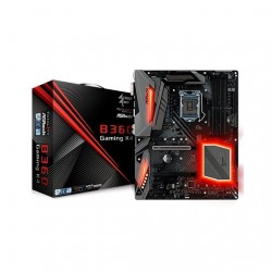 PLACA BASE ASROCK 1151 8G B360 GAMING K4