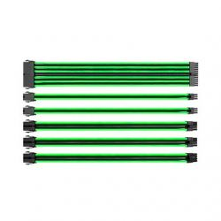KIT EXTENSION CABLES THERMALTAKE VERDE NEGRO