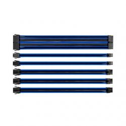 KIT EXTENSION CABLES THERMALTAKE AZUL NEGRO